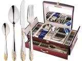 Набор столовых приборов MayerHouse 8005 Дипломат 72 предмета на 12 персон