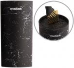Подставка-колода Ofenbach Black Marble для кухонных ножей и ножниц 11х11х22см, круглая