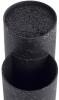 Подставка-колода Ofenbach Black Marble для кухонных ножей и ножниц 20х12х22.5см, двойная круглая