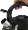 Чайник Ofenbach Happy Kettle 2л з нержавіючої сталі зі свистком, чорний матовий
