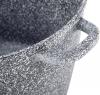 Кастрюля Ofenbach Snow Marble 6.2л индукционная с антипригарным покрытием