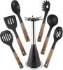 Набор кухонных аксессуаров Ofenbach Blackwood 7 предметов, под дерево
