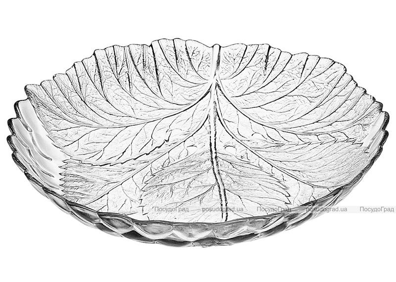 Набор 6 глубоких тарелок Sultana стеклянные Ø210мм