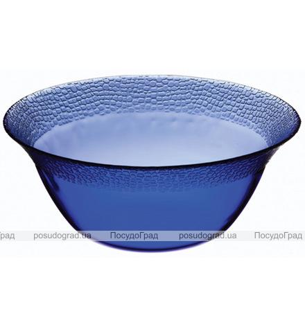 Большой стеклянный салатник Mosaic Colora Cobalt Ø23мм