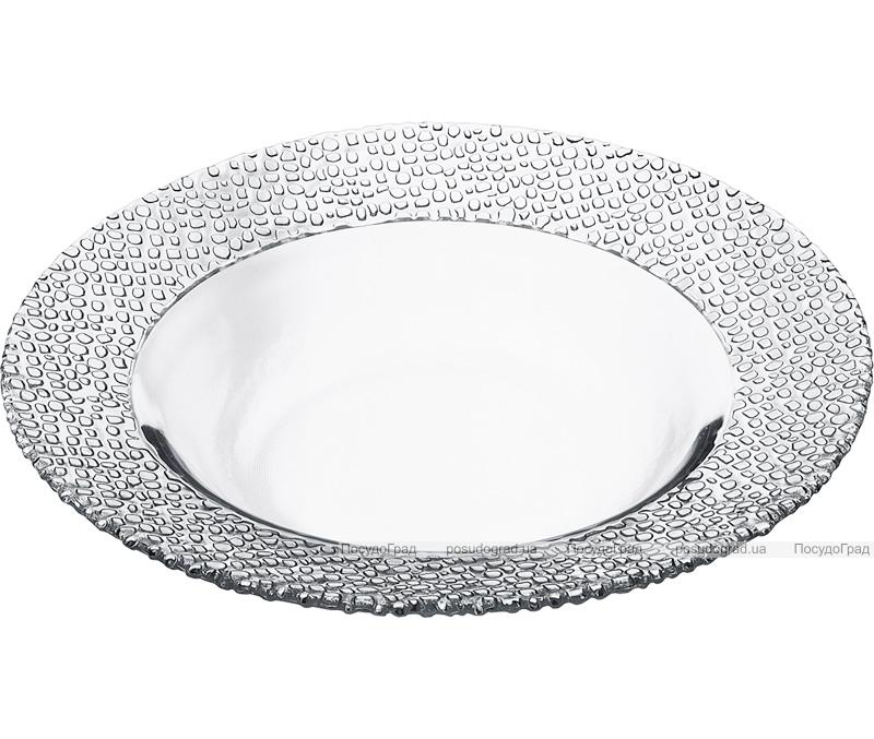 Набор 6 стеклянных тарелок Mosaic Ø21см, глубокая полупорционная