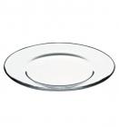 Набір 12 скляних тарілок Invitation Ø19.5см