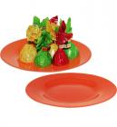 Тарелка десертная Jazzy Red Ø19.5см