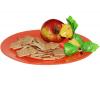 Тарелка обеденная Jazzy Orange Ø26см
