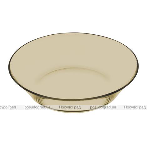 "Набор ""Invitation Bronze"" 12 стеклянных тарелок Ø22см, глубокая"