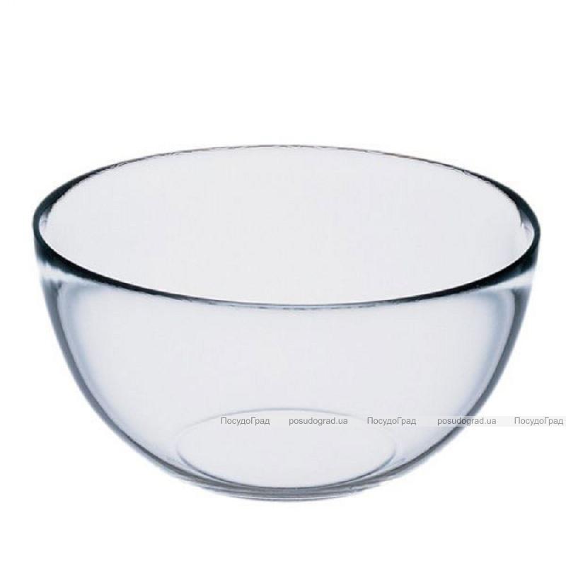 Стеклянная салатница Invitation 22см