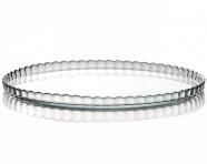 Блюдо Patisserie Ø280мм, стеклянное, с бортом