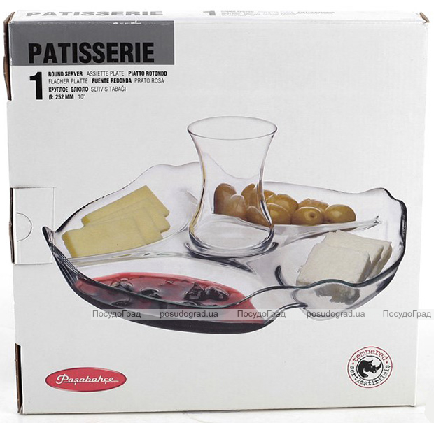 Блюдо-менажница Patisserie Ø25см на 5 секций