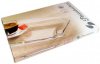 Стеклянное блюдо Patisserie 34x22cм