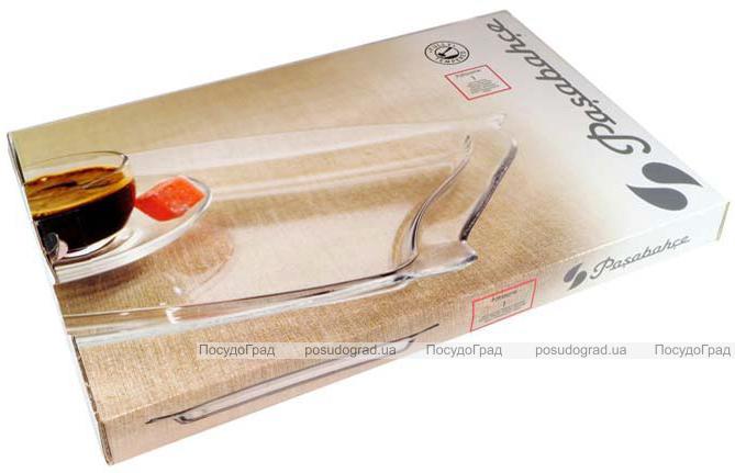 Скляне блюдо Patisserie 34x22cм