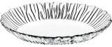 Блюдо овальне Aurora 33х25см скляне