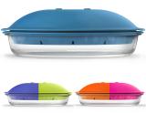 Форма ZEST Glass Borcam 1.84л для запікання на пару в мікрохвильовій печі