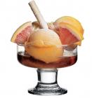 Набір 3 скляні креманки Aquatic Ice Ville Ø10см