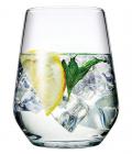 Набір 12 склянок Allegra 425мл, універсальний соковий стакан