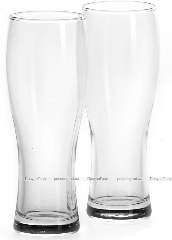 Набор 2 фужера Pub Classic для пива 300мл, стеклянные