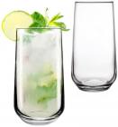 Набір 12 скляних високих склянок Allegra 470мл, універсальний стакан
