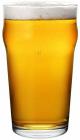 Фужер для пива стеклянный Pasabahce Nonic 570мл пинта (пивной стакан)