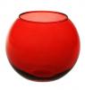 Ваза Flora WorkShop сфера 79мм червоне скло