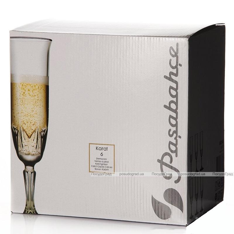 Набор 6 бокалов Karat 163мл для шампанского