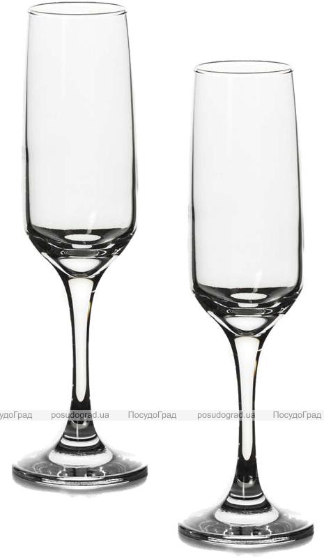 Набор 12 фужеров Isabella для шампанского 200мл (шампанки)