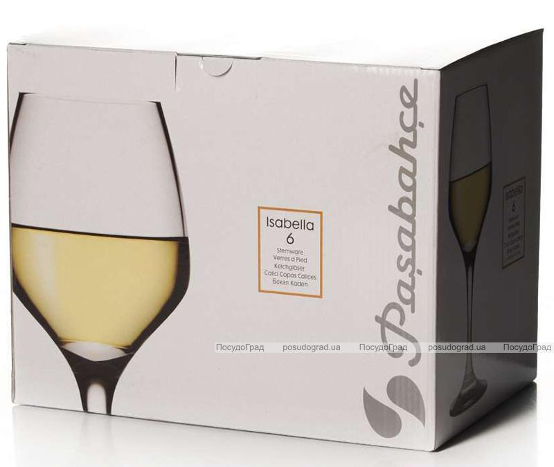 Набор 6 фужеров Isabella для белого вина 350мл (винки)