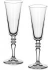 Набор 6 стеклянных шампанок Vintage 190мл