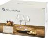 Набір 6 фужерів Pasabahce Risus 390мл, скляні келихи для вина
