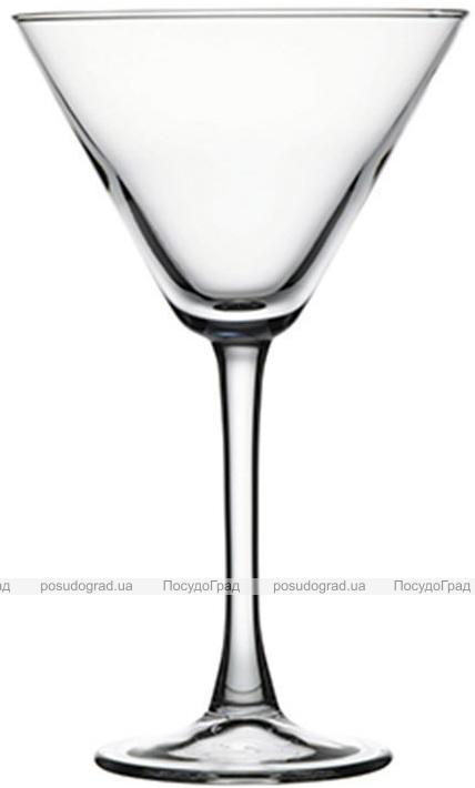Набор 12 стеклянных фужеров Imperial Plus для мартини 280мл