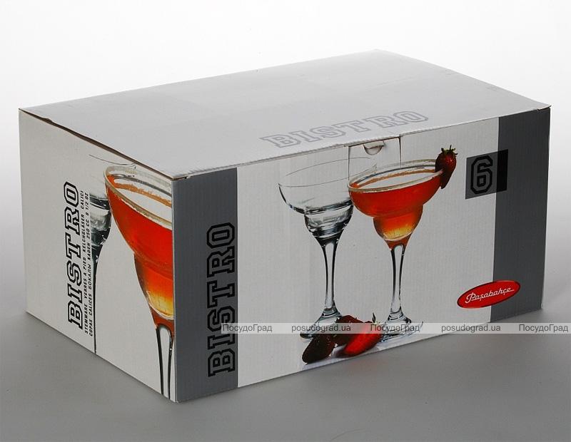 Набор 6 фужеров Bistro 250мл для коктейля Маргарита
