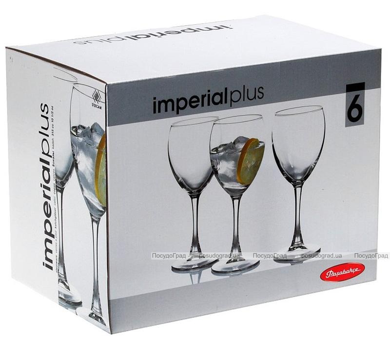 Набор 6 фужеров Imperial Plus для воды 315мл