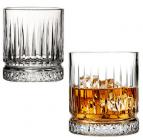 Набір 4 стакани для віскі Elysia 355мл, скляні