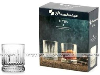 Набор 4 стеклянных стакана Elysia 210мл, соковый