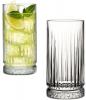 Набор 4 стеклянных высоких стакана Elysia 445мл