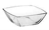 Набір 4 салатника Tokio 16х16см, скляні миски (подарункова упаковка)