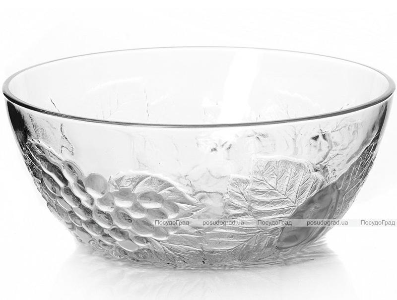 Большой стеклянный салатник Piknik Ø23см