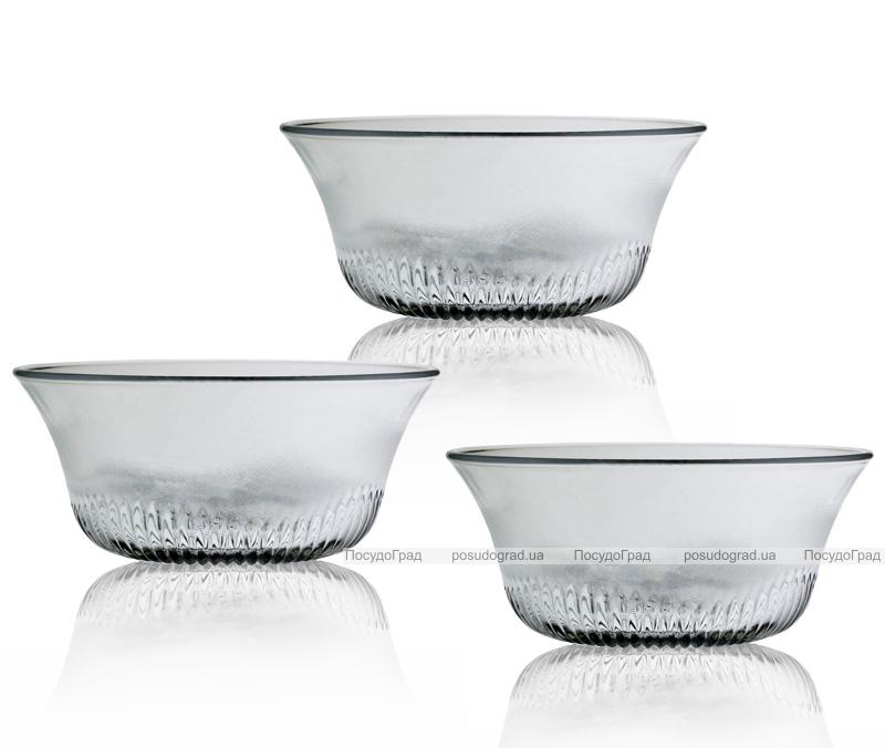 Набор 6 стеклянных пиал Bowl Ø123мм