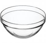 Велика скляна салатниця Chefs Ø30см 4800мл (миска)