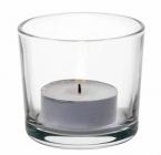 Набір 24 скляних свічників Alanya, Ø6см (під свічку-таблетку)