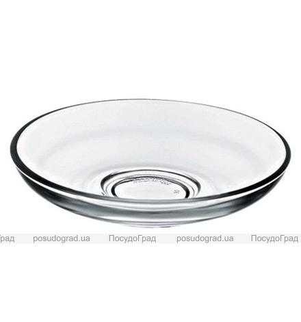Стеклянное блюдце Aida круглое Ø110мм