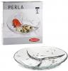 Блюдо-Менажниця Perla Ø27см 3-секційна