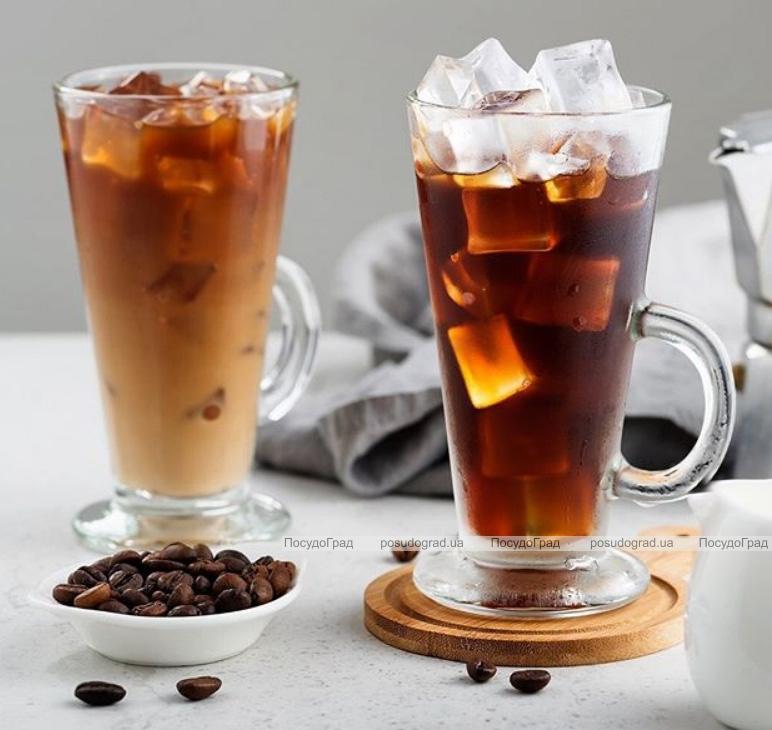 Кружка стеклянная (стакан) Mugs Colombian 455мл для латте и чая
