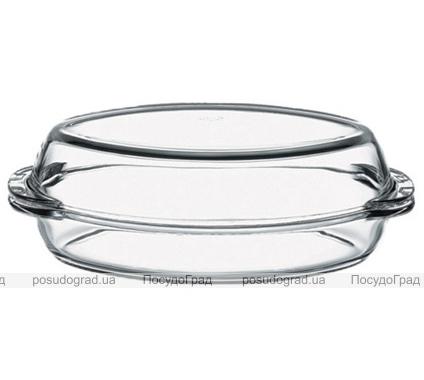 Утятница с крышкой Borcam 1,9л стеклянная
