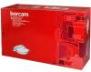 Утятница Borcam 1.7л с крышкой 2л, жаропрочное стекло