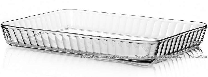 Форма для выпечки Borcam стеклянная прямоугольная 400х270мм, 3800мл
