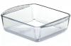 Прямоугольная стеклянная форма (емкость) Borcam 21x16см для выпечки