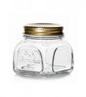 Банка для продуктів Homemade 300мл з металевою кришкою